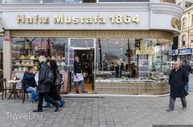 Лавка Hafiz Mustafa в Стамбуле, Турция / Фото из Турции