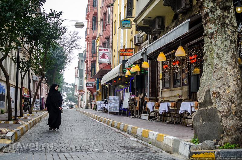 В городе Стамбул, Турция / Фото из Турции