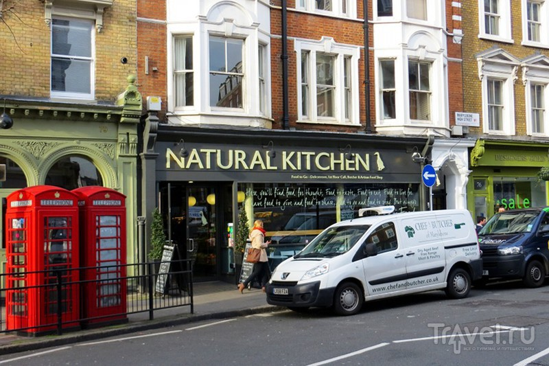 Мэрилебон - район цветов, моды и здорового питания в самом сердце Лондона / Великобритания