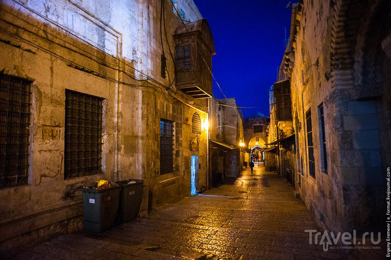 Вечерняя улочка Израиля / Фото из Израиля