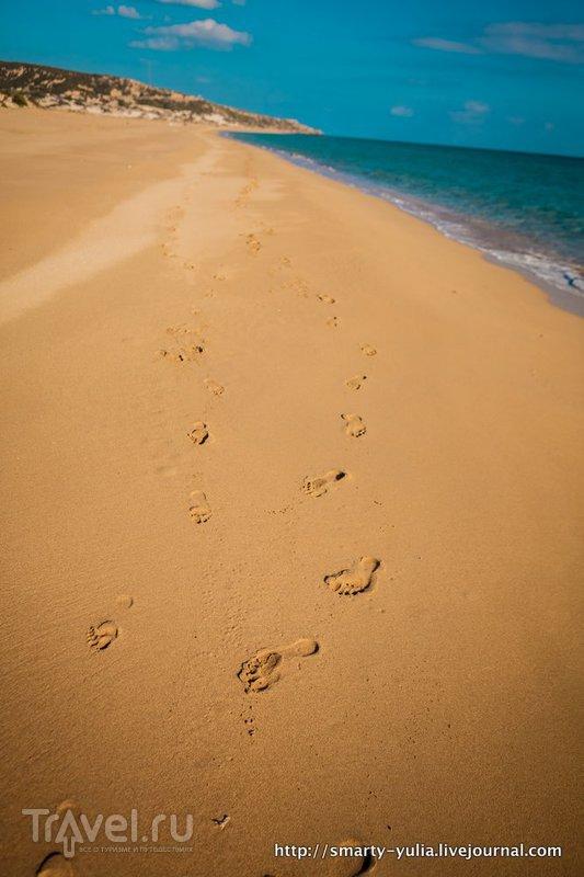 Северный Кипр: живописный пляж Карпасии