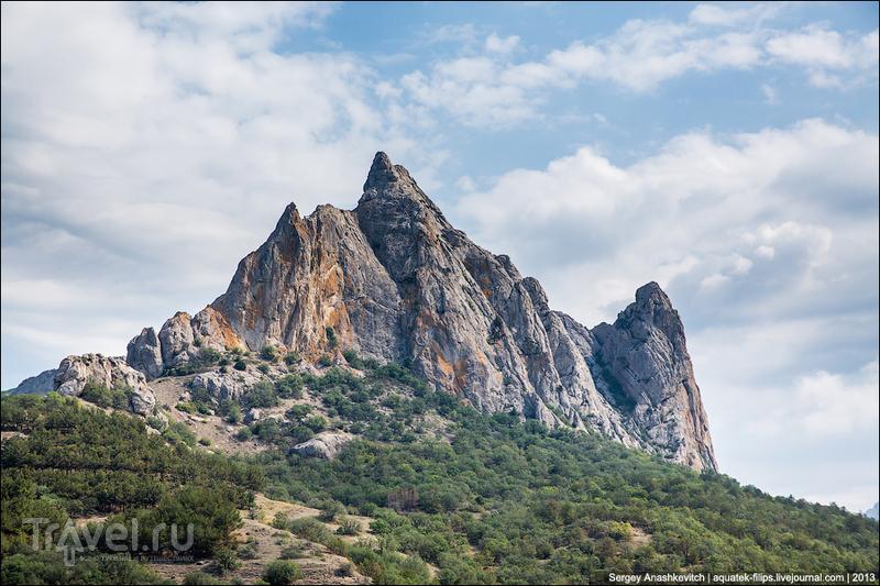 Гора Парсук-Кая в Крыму / Фото с Украины