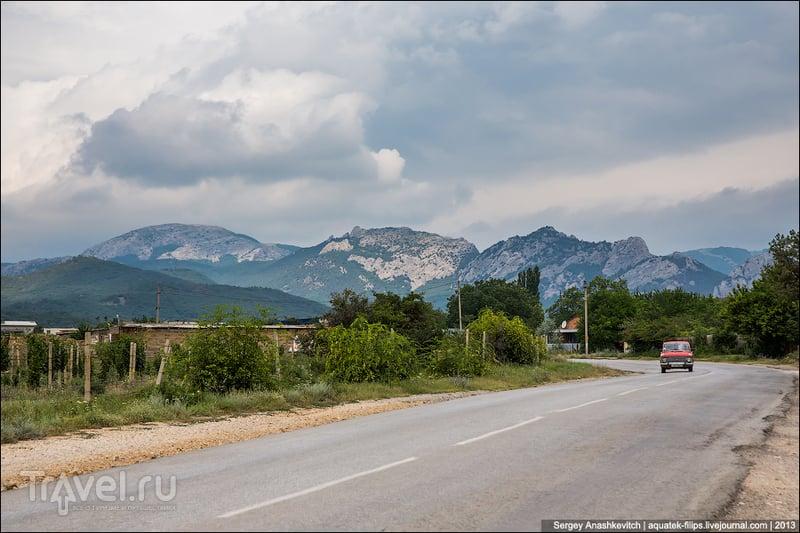 Гора Курбан-Кая в Крыму / Фото с Украины