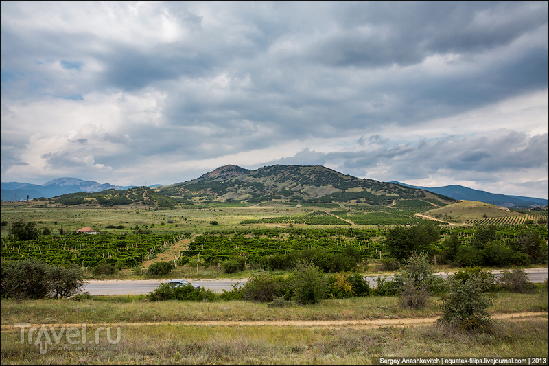 Гора Арды-Кая в Крыму / Фото с Украины