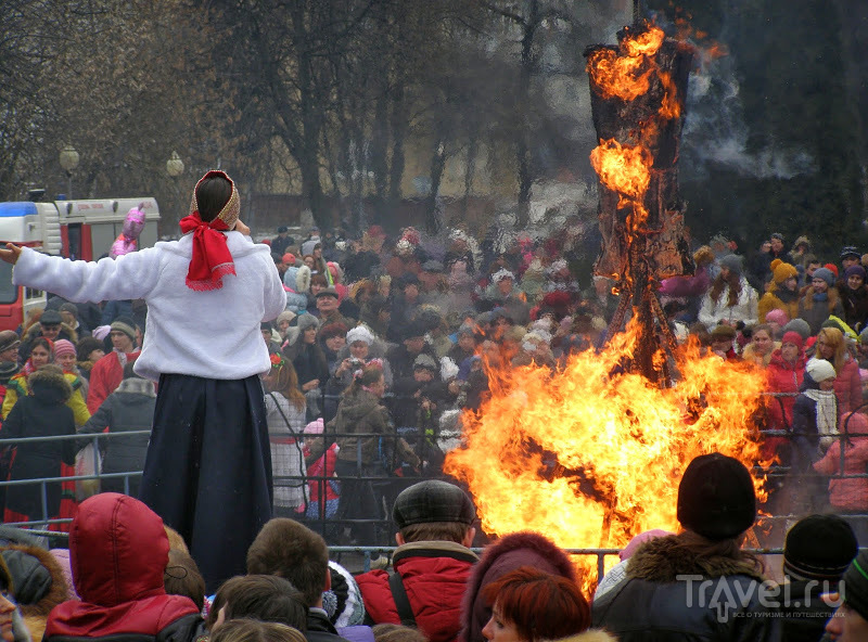 Масленица в Орле. Народные гулянья / Россия