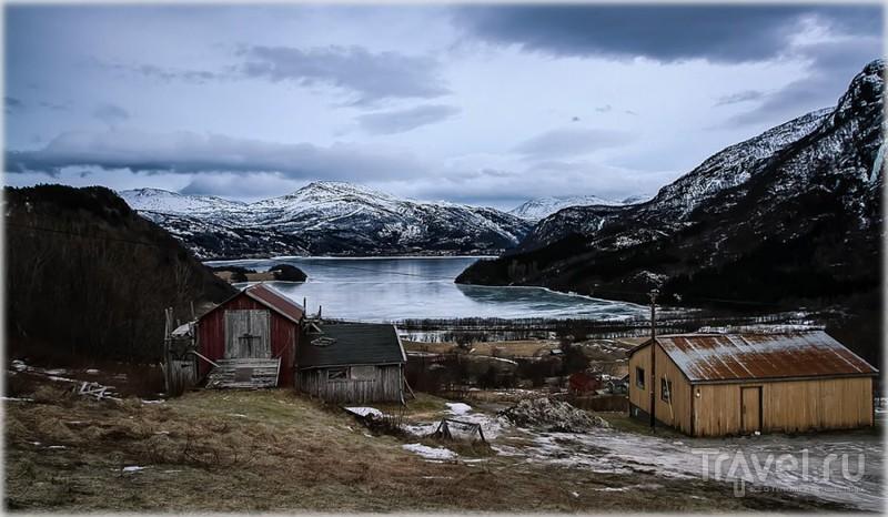 Лекнес, Лофотены, Норвегия / Фото из Норвегии