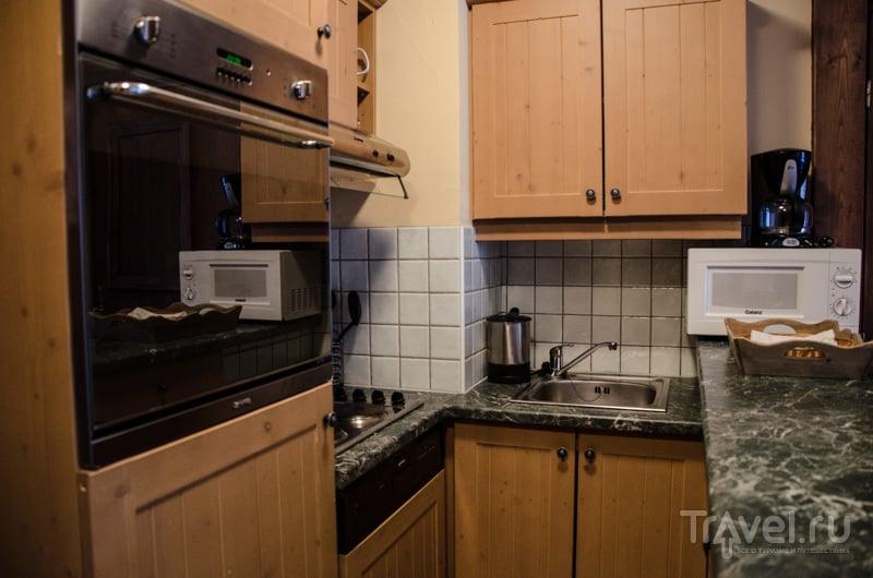 Кухня в 5-звездочных апартаментах / Фото из Франции