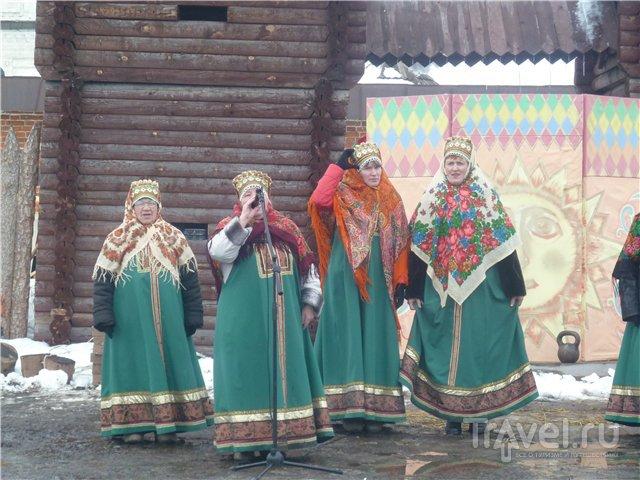 Масленица в Юрьев-Польском / Россия