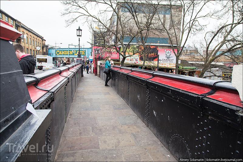 Camden Town. Альтернатива строгого Лондона / Великобритания