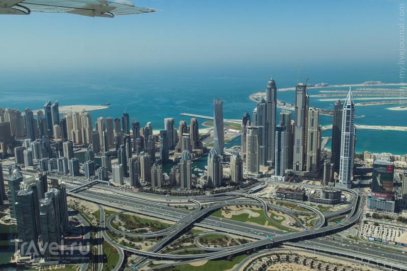 Район Dubai Marina в Дубае, ОАЭ / Фото из ОАЭ