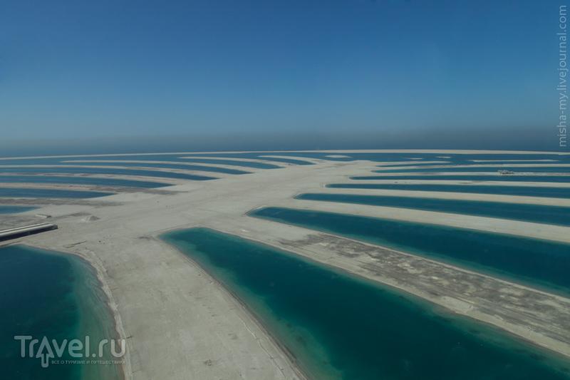Острова Palm Jebel Ali (Пальма Джебель Али) в Дубае, ОАЭ / Фото из ОАЭ