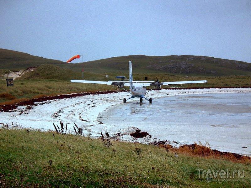 Аэропорт острова Барра за год посещают около 10 тысяч путешественников / Великобритания