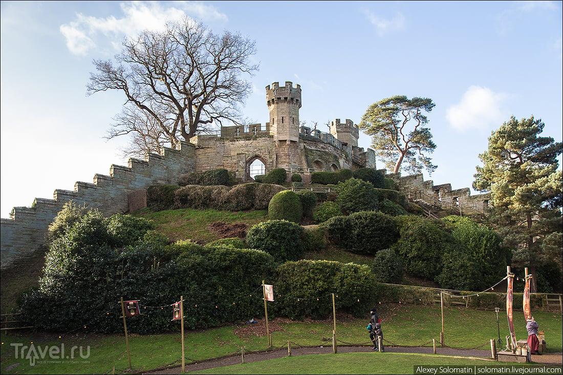 Средневековый замок Warwick. Уорик, Великобритания / Фото из Великобритании