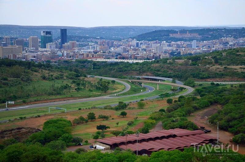 Почерневшая южноафриканская столица / Фото из ЮАР