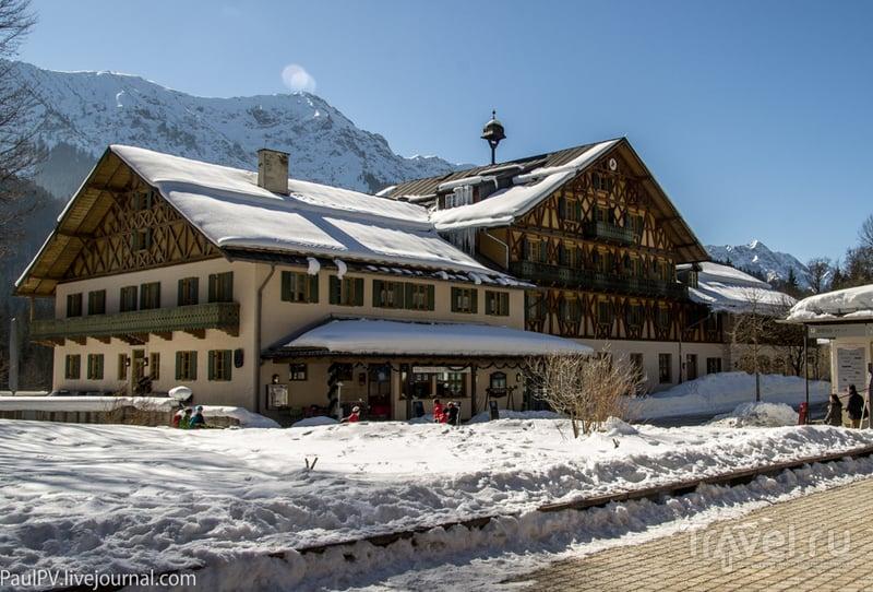 Гостиница в Линдерхофе. Бавария, Германия / Фото из Австрии