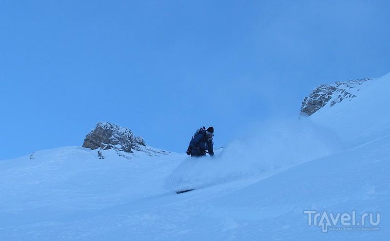 В Альпы снова вернулась зима! / Фото из Франции