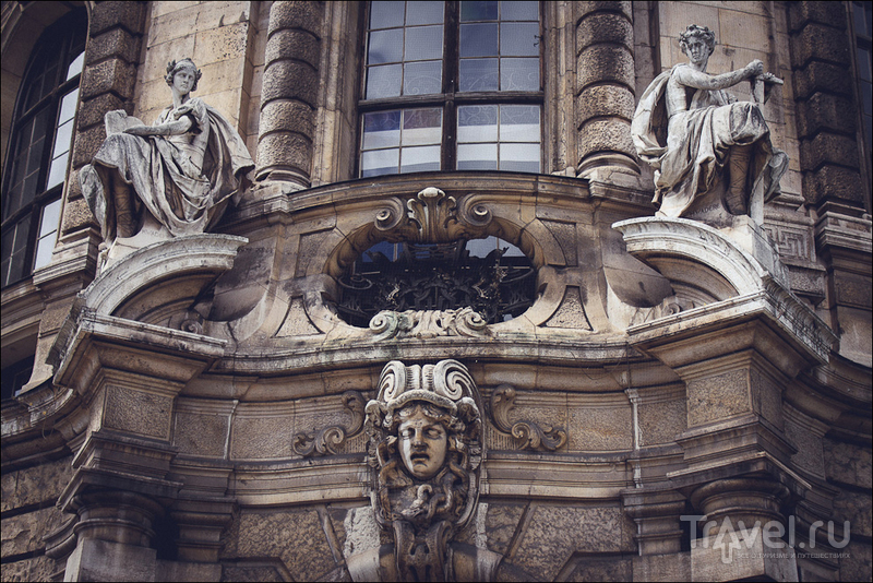 В центре Мюнхена / Германия