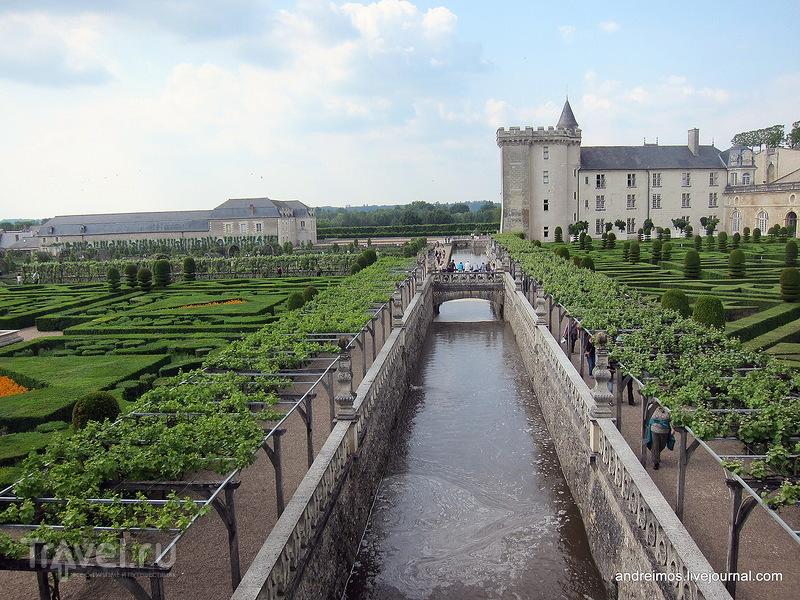 Сады Вилландри (Jardins du château de Villandry), канал / Фото из Франции