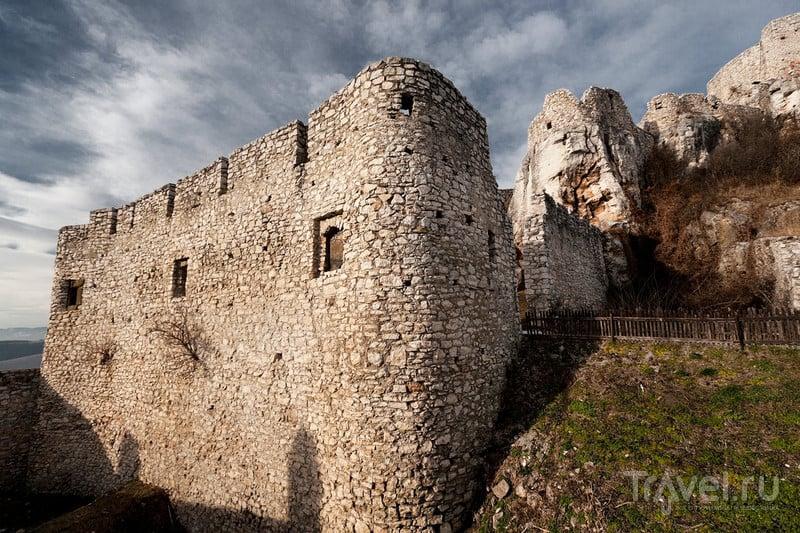 Замок Спишский град.  Словакия / Фото из Словакии