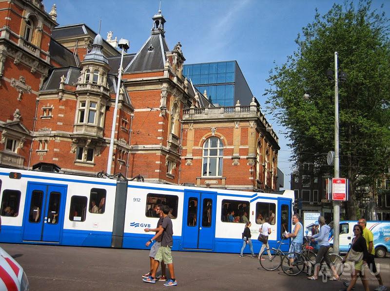 Голландия. Амстердамский транспорт / Нидерланды