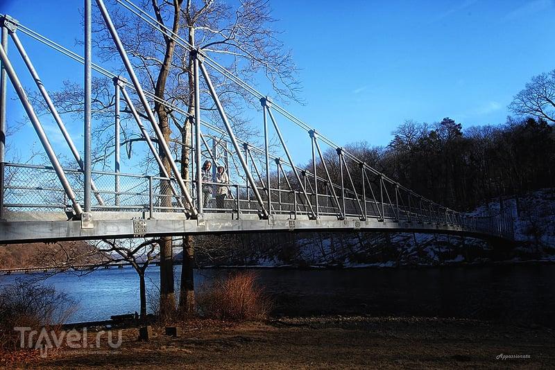Монтгомери Форт на реке Гудзон в Медвежьем парке. Штат Нью Йорк, США / Фото из США