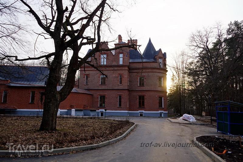 Прогулка по санаторию Герцена и берегу Москва-реки / Россия