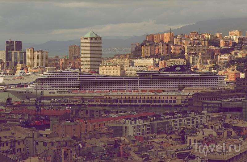 Круизный лайнер MSC Preziosa / Фото из Франции