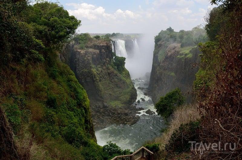 Водопад Виктория, р. Замбези. Зимбабве / Фото из Зимбабве