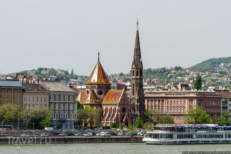 Реформатская церковь. Венгрия, Будапешт / Фото из Венгрии