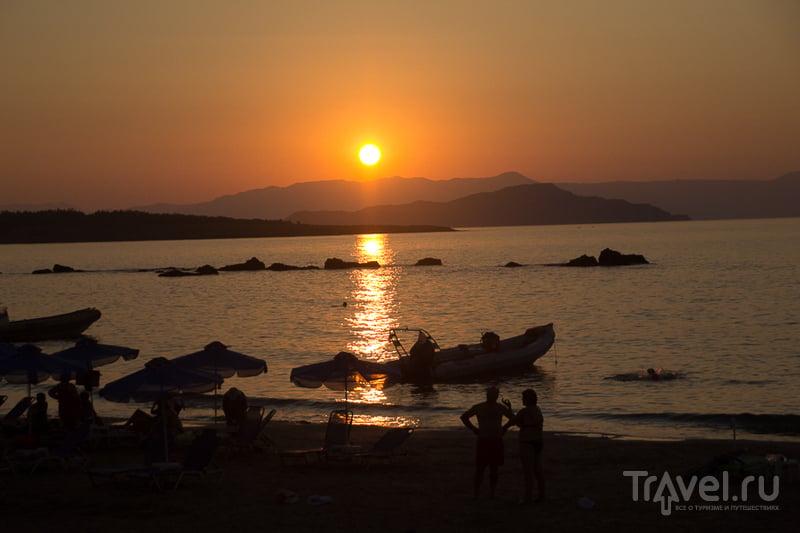Закат. Ханья, Кипр, Греция / Фото из Греции