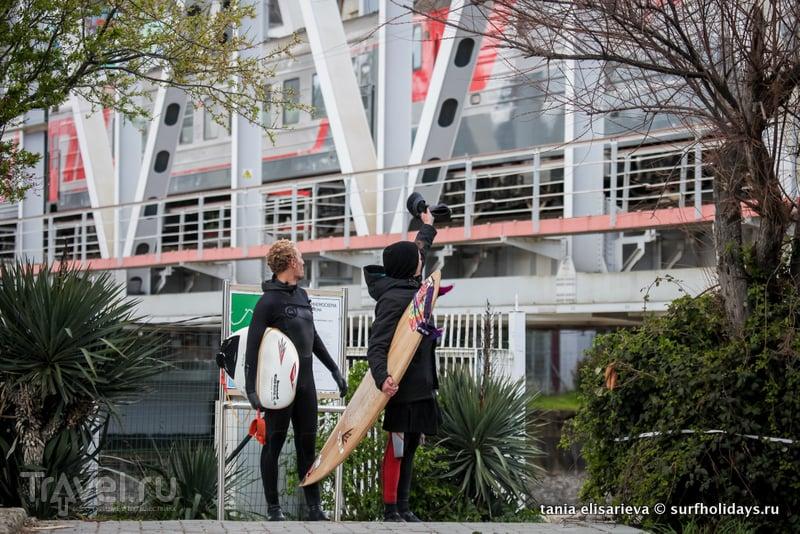Серфинг в Сочи / Россия