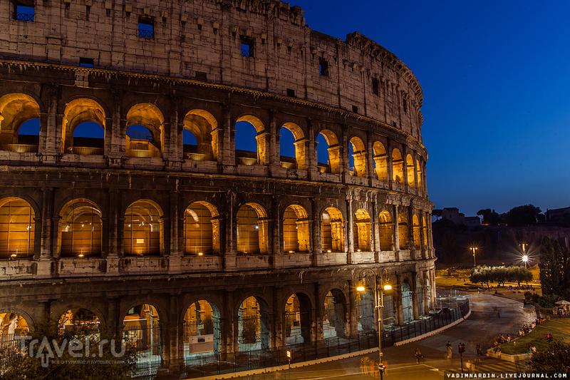 Вечерние прогулки по Риму / Фото из Италии