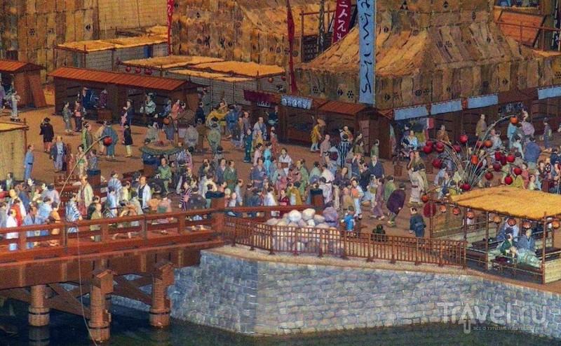 Музей Эдо-Токио. Зарисовки / Япония