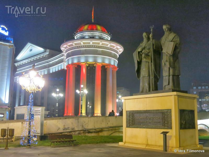 В Македонию из Албании на новогодние праздники. Тирана - Скопье / Албания