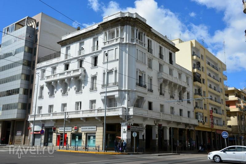 Касабланка - город белых домов / Фото из Марокко