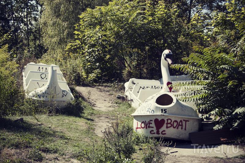 В этом парке вымерли не только динозавры! Прогулка по мертвому Шпреепарку / Германия