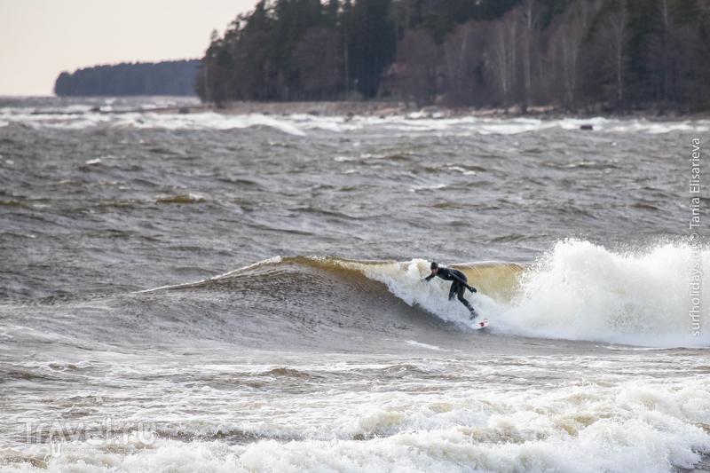 Серфинг в Питере / Россия