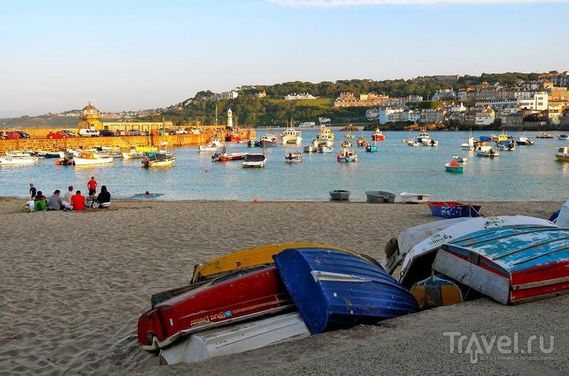 Город художников и музыкантов на юге Англии - St.Ives / Фото из Великобритании