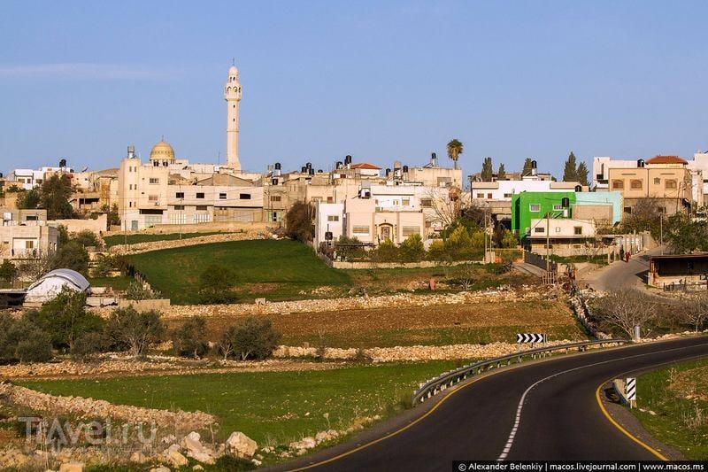 Арабские деревушки. Палестина / Фото из Палестины