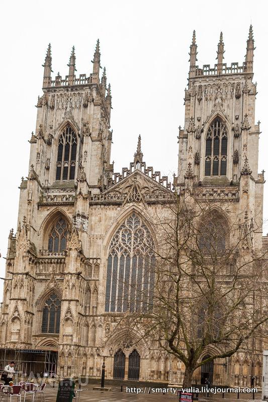 Йорк: город из прошлого. Великобритания / Фото из Великобритании