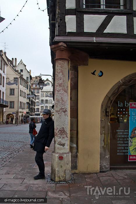 Страсбург - центральный собор, блошиный рынок, фрики и др. / Фото из Франции
