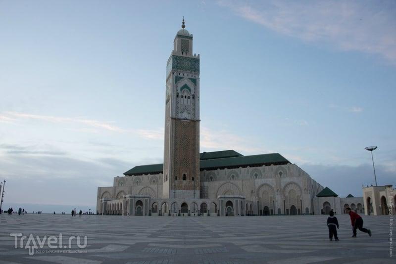 Мечеть Хасана II. Касабланка, Марроко / Фото из Марокко