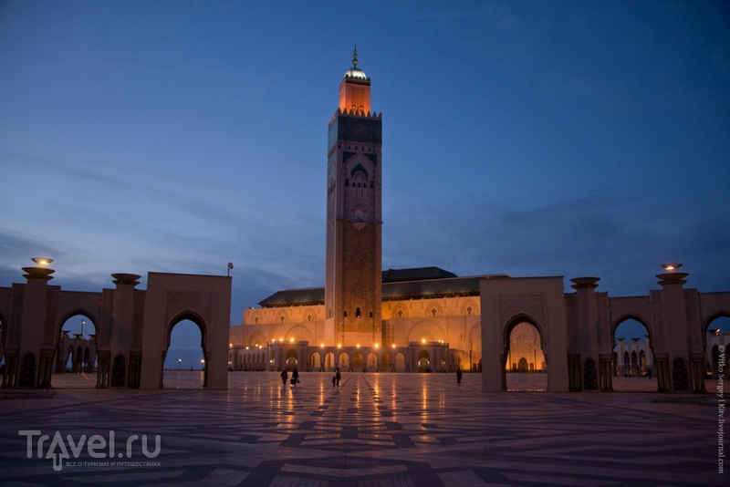 """Народный """"подарок"""" королю: Мечеть Хасана II в Касабланке / Фото из Марокко"""