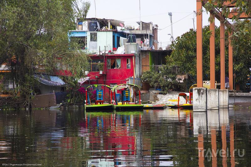 Шочимилько - маленькая Венеция на окраине Мехико / Фото из Мексики