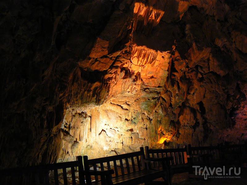 Аланья, Турция. Пещера Дамлаташ / Турция