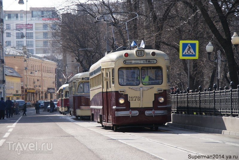 115 лет Московскому трамваю / Россия
