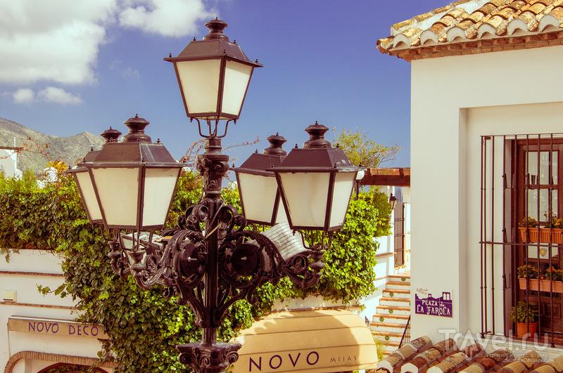 Андалусский городок Михас / Фото из Испании