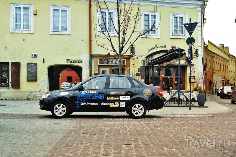 Санкт-Петербург - Вильнюс - Берлин - Нюрбургринг 2014 / Латвия