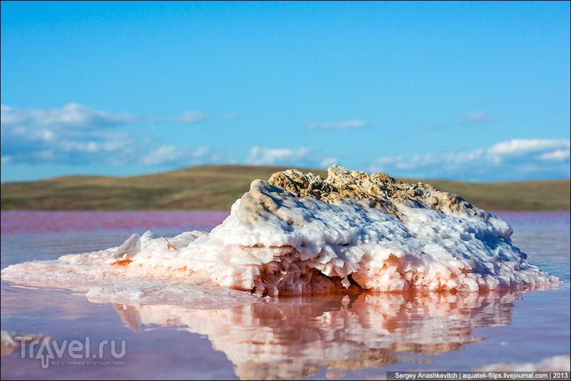 Крымские чудеса. Самое соленое озеро в Крыму / Фото из России