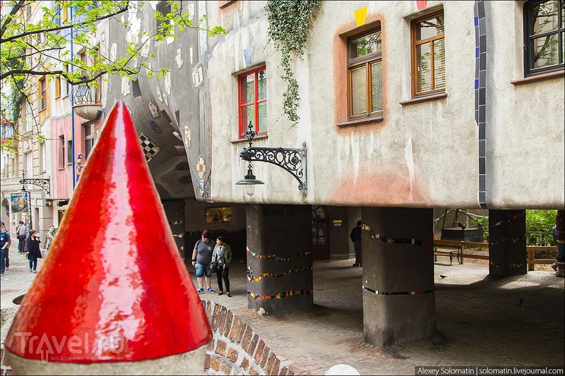 Дом Хундертвассера в Вене / Австрия